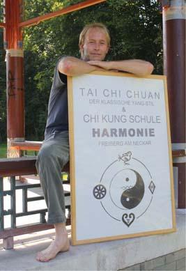 Leiter der Tai Chi Schule Harmonie - Thomas Seutter